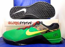 MENS NIKE ID METCON 2 GREEN YELLOW CAMO CROSS FIT SHOES 846027 991 SIZE 11