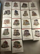 Lot Of 18 Liberty Falls Village/The Americana Collection Pieces + Original Boxes