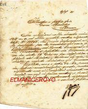 1921 MASSONERIA CORRISPONDENZA LETTERA A GRAN MAESTRO ROMA DA VENERABILE