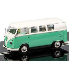 NEW SCALEXTRIC 1:32 VOLKSWAGEN VW KOMBI CAMPER VAN GREEN BEIGE C3760 SLOT CAR