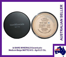 id Bare Minerals Escentuals -BareMinerals-MATTE Fairly Light (N10) 6gr/0.21 Oz.