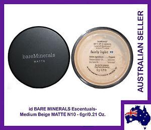 Bare Minerals Escentuals BareMinerals MATTE Fairly Light N10 6gr/0.21 Oz.