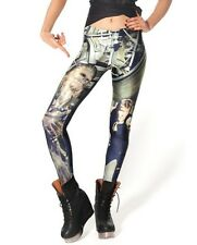 LEGGINGS MUJER STAR WARS HAN SOLO CHEWIE WE'RE HOME LEGGINS CHEWBACCA GEEK RETRO
