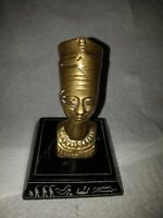 Vintage Egyptian statue Sculpture NEFERTITI the Queen of The Nile