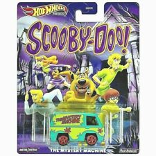 🔥 Hot Wheels Premium The Mystery Machine Scooby-Doo Real Riders Metal Car GJR46