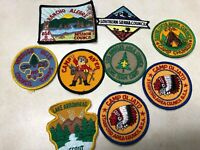 Lot of 9 California Camp Patches