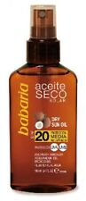 Babaria Sonnenschutz-Produkte mit Spray-Formulierung für Unisex
