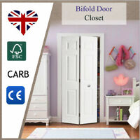 Internal Bifold Doors 6 Panel Folding White COLONIST Moulded Bi-Fold Door