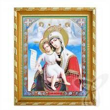 Ikone GM Würdig ist Holz 21x18 Достойно Есть Богородица ikona икона