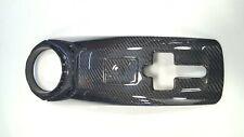 Carbon Fiber Rear Engine Bay Lock Latch Cover Panel fit Ferrari 488 GTB Spider