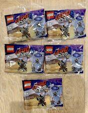 Lego Movie 2 Mini Figure Metalbeard (30528) 3 In 1 Polybag Lot Of 5