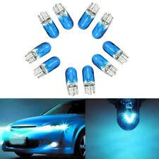 10x T10 168/W5W 3W Halogen Blue Globe Xenon Sidelight Front Headlight Bulb 12V