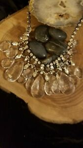 R.J. Graziano Crystal Statement Necklace