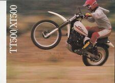 YAMAHA TT500 TT500H 1981 PAINTWORK DECAL SET
