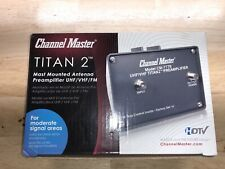 Channel Master Television Preamp Kit & More