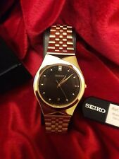 Mens Seiko Dress Hardlex Crystal Wrist watch Water Resist 30M  SKG302P2