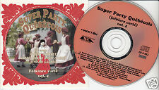 SUPER PARTY QUEBECOIS (Folklore Varié) Volume 4 CD Accordion Fiddle