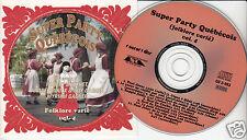 SUPER PARTY QUEBECOIS (Folklore Varié) Volume 4 CD Accordion Fiddle