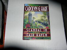 Scandal in Fair Haven  by Carolyn Hart (1994) SIGNED 1st/1st