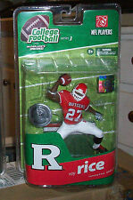 McFARLANE COLLEGE NCAA 3 RAY RICE RUTGERS TRU EXCLUSIVE FOOTBALL ACTION FIGURE