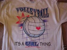 Volleyball It's a girl thing T Shirt