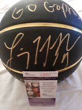 Lindsay Whalen Signed Special Edition NCAA basketball with inscription JSA