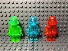LEGO Star Wars Darth Vader Prototype Monochrome Trans Colors Lot of 3 Rare!