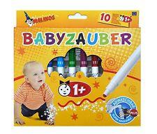 Malinos Babyzauber Abwaschbar,Malstifte,Marker,Stifte NEU!
