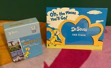 Dr. Seuss 4x6 Picture Frame Oh The Places You'll Go Graduation & Travel Cards