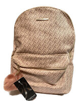 NWT Rampage Backpack Pink Booksack Zip Closure Women's Juniors  Bag