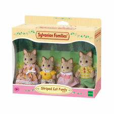 Sylvanian FAMILIES Famille chat rayé chiffres 5180