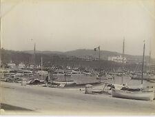 Cannes France Vintage argentique ca 1900