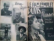 """LE FILM COMPLET 1937 N 1967 """" PUITS EN FLAMMES """" avec JOCELYNE GAËL et G. RIGAUD"""