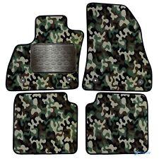 Armee-Tarnungs Autoteppich Autofußmatten Auto-Matten für Fiat 500L ab 2012