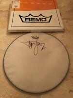 Tommy Lee Signed Autographed Remo Drumhead Motley Crue With Box