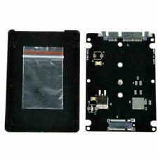 Black B+M key Socket 2 M.2 NGFF (SATA) SSD to 2.5 SATA Adapter Card with Ca P3W4