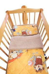Children Bed, Duvet 140x200 CM + Pillows Cover 40x60 CM, 100% Wool