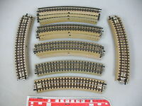 AN559-0,5# 17x Märklin/Marklin H0/00/AC Gleisstück (M-Gleis gebogen) f. 3600/800