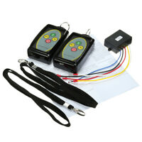 12V 24V 50ft Winch Remote Wireless Control In Out Kit Universal for Jeep SUV ATV