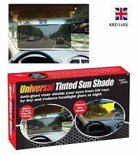 TINTED SUN SHADE Black Fade Windscreen Visor Extension Anti Dazzle Glare Reducer