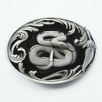 Snake Western Belt Buckle