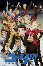 Yuri on Ice - Key Art Wall Poster ~22x34 inches NEW FREE S/H