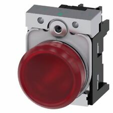 Siemens Sirius acto Rojo LED Luz Piloto Completa, recorte de 22mm, IP20, 230 V AC