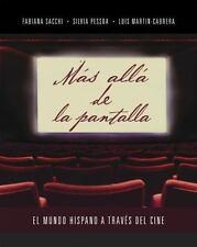 Mas alla de la pantalla: El mundo hispano a traves del cine (Spanish Edition)