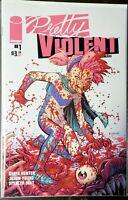 Pretty Violent #1 Cov.B variant NM+ never read HOT NEW BOOK!!! IMAGE COMICS!!