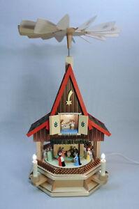 Pyramide Adventshaus Christi Geburt - Echt Erzgebirge, Richard Glässer GmbH