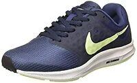NEW WOMEN´S ORIGINAL NIKE DOWNSHIFTER 7 Nav Blue Running Shoes SZ US 6.5