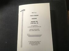 JAP Model 80 Type 25 Engine Instructions - Clifford Mark I Rotavator / Rotovator
