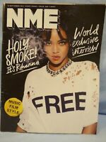 New Music Express NME 18th September 2015 Rihanna World Exclusive Interview