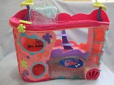 "Littlest Pet Shop Retired Pink Cozy Care Adoption Center Playset 16"" long"